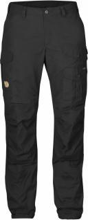 fjellreven vidda pro curved bukse dame - black - black