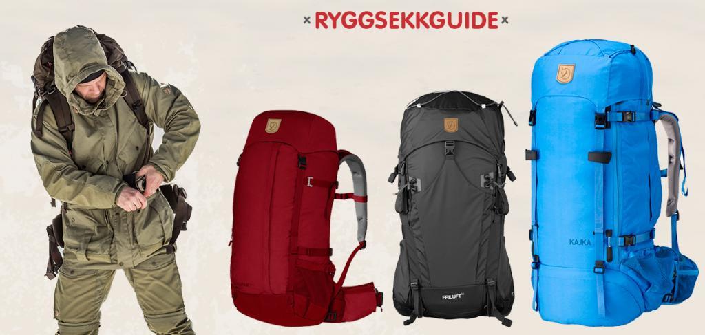 Fjellrevenshop ryggsekkguide - Guide av fjellreven ryggsekker
