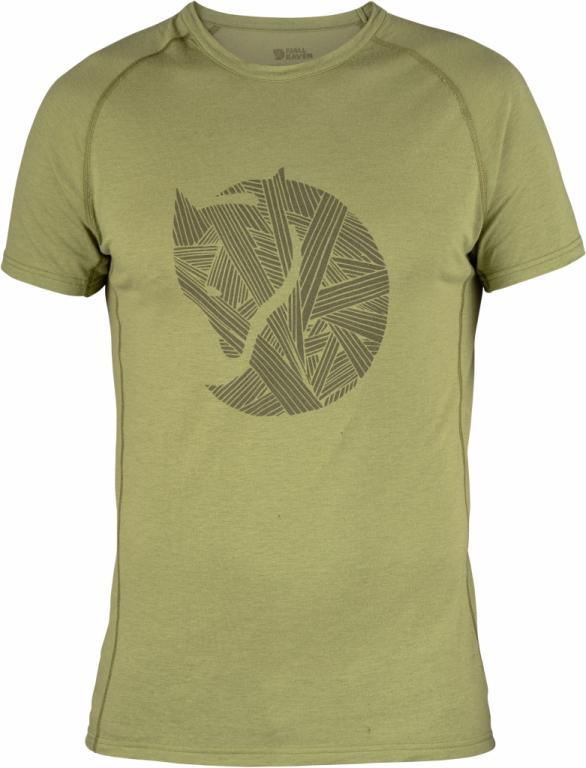 fjellreven abisko trail t-shirt print - 611