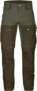 fjellreven keb gaiter trousers regular - tarmac
