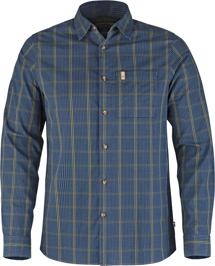 fjellreven kiruna shirt ls - uncle blue