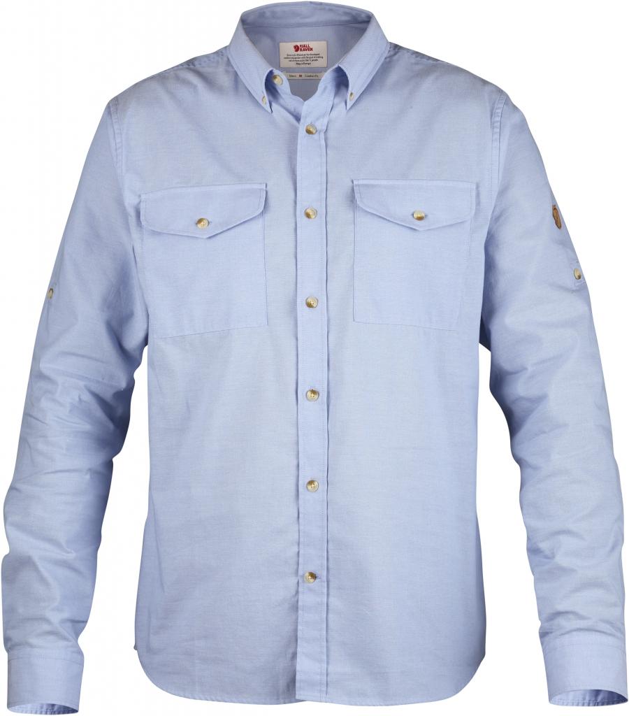 fjellreven Övik chambray shirt - blue ridge