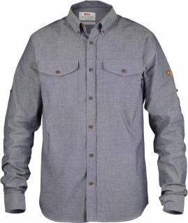 fjellreven Övik chambray shirt - navy