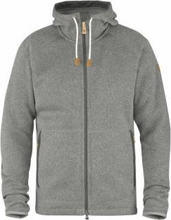 fjellreven Övik fleece hoodie - fog