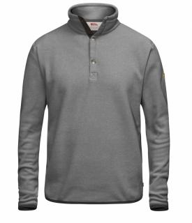 fjellreven Övik fleece sweater - grey