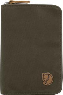 fjellreven passport wallet - dark olive