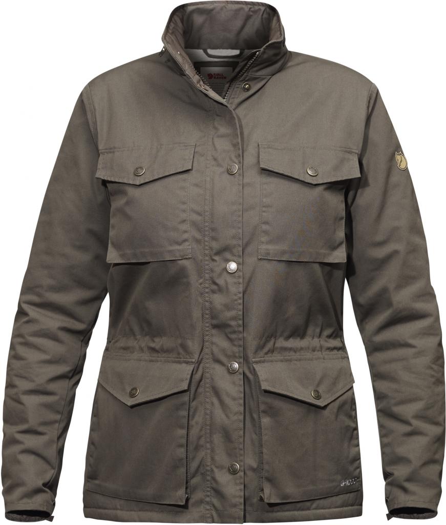 fjellreven reven winter jakke dame - mountain grey