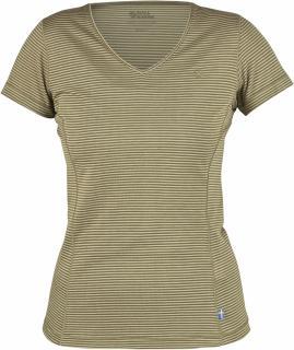 fjellreven abisko cool t-shirt dame - green