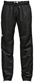fjellreven abisko eco-shell bukse dame - black