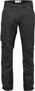 fjellreven abisko lite trekking bukse regular - dark grey