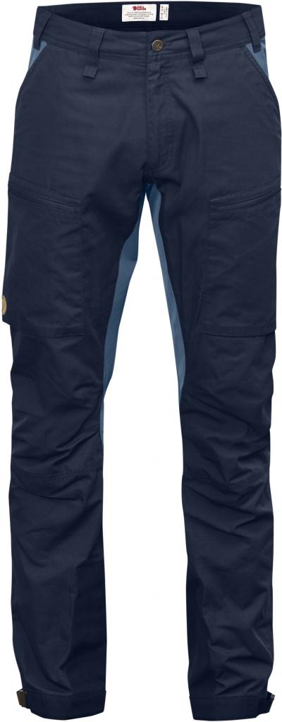 fjellreven abisko lite trekking bukse regular - dark navy-uncle blue