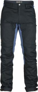 fjellreven abisko lite trekking zip-off bukse - dark navy-uncle blue