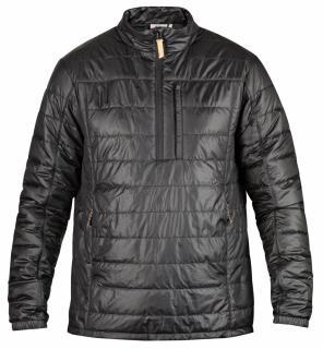 fjellreven abisko padded pullover - black