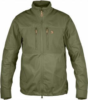 fjellreven abisko shade jakke - green