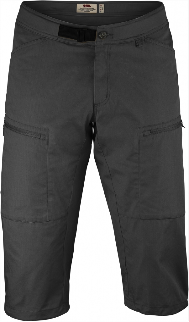 fjellreven abisko shade shorts - dark grey
