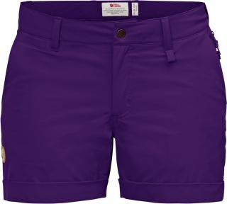 fjellreven abisko stretch shorts dame - purple