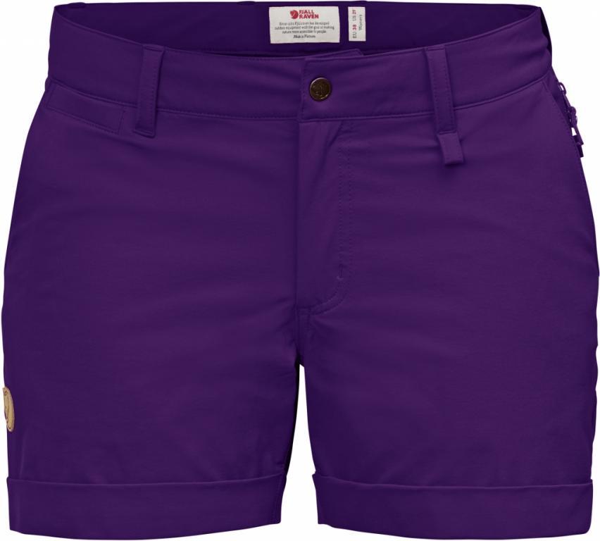 fjellreven abisko stretch shorts dame - purple