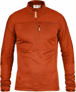 fjellreven abisko trail pullover - flame orange