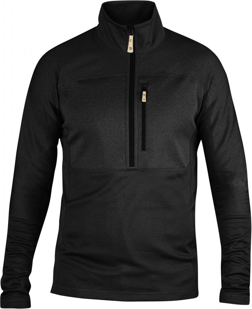 fjellreven abisko trail pullover - black