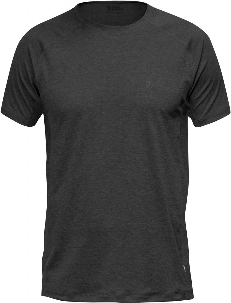 fjellreven abisko vent t-skjorte - dark grey