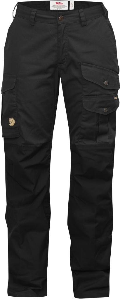 fjellreven barents pro curved bukse dame - black-black
