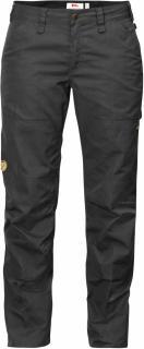 fjellreven barents pro jeans dame - dark grey - dark grey