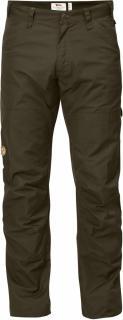 fjellreven barents pro jeans - dark olive-dark olive