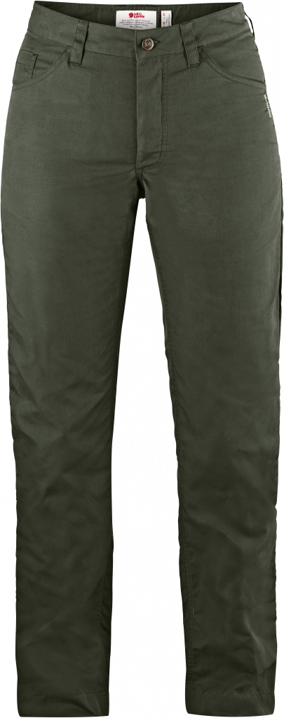 fjellreven greenland lite jeans dame - mountain grey