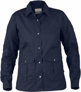 fjellreven greenland shirt jacket dame - dark navy