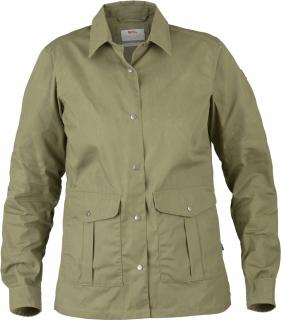 fjellreven greenland shirt jacket dame - green