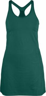 fjellreven high coast strap dress - copper green