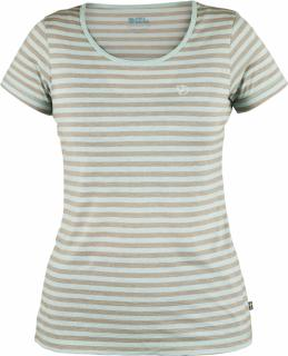 fjellreven high coast stripe t-shirt dame - ocean mist