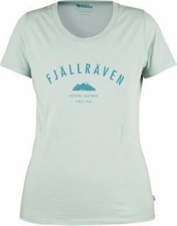 fjellreven trekking equipment t-shirt dame - ocean mist