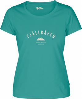fjellreven trekking equipment t-shirt dame - copper green