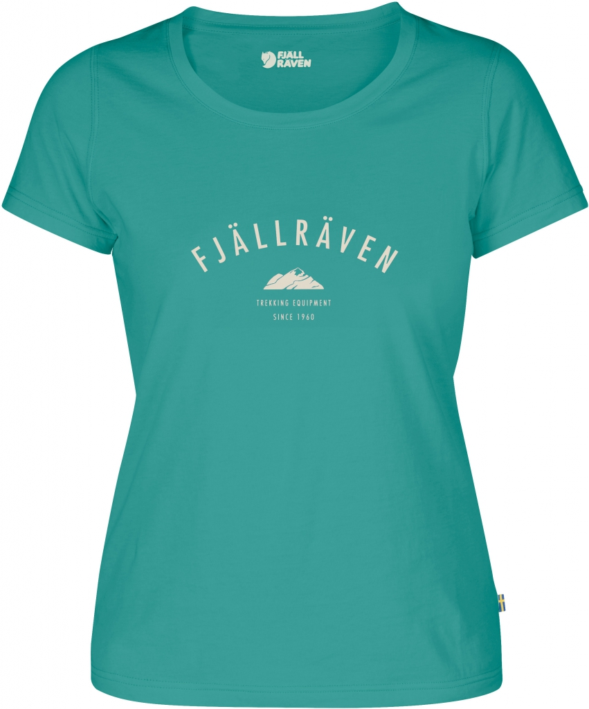 fjellreven trekking equipment t-shirt dame - copper green