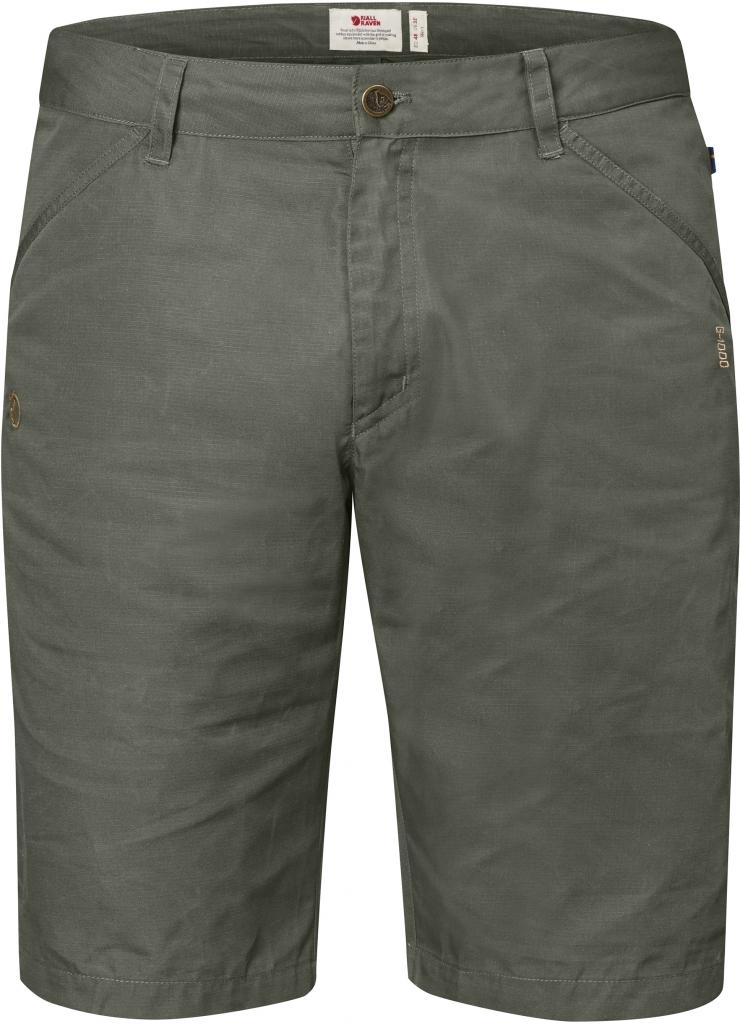 fjellreven high coast shorts - mountain grey