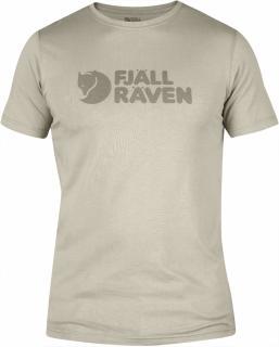 fjellreven logo t-shirt - chalk white