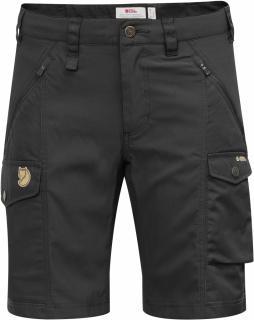 fjellreven nikka shorts curved - black