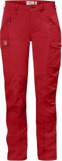 fjellreven nikka bukse curved dame - red