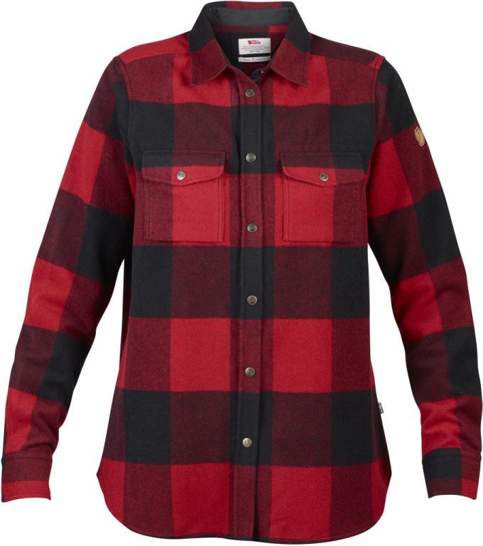 fjellreven canada skjorte dame - red