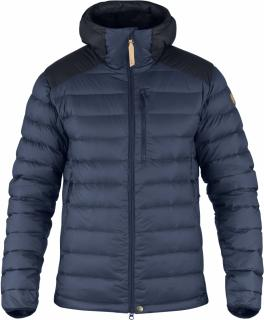 fjellreven keb touring down jacket - storm - night sky