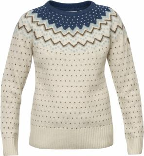fjellreven Övik knit sweater women - glacier green