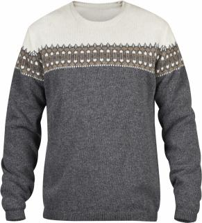 fjellreven Övik scandinavian sweater - grey