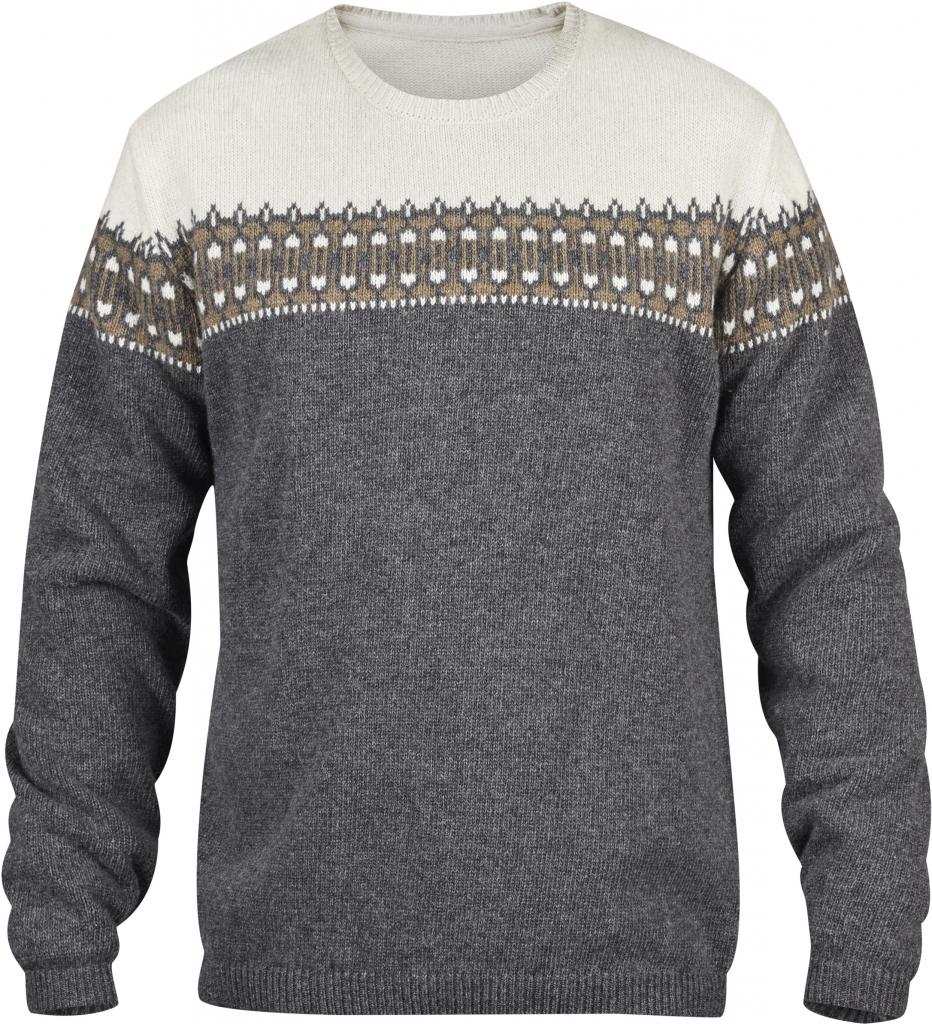 fjellreven Övik scandinavian sweater - grey