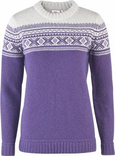 fjellreven Övik scandinavian sweater dame - alpine purple