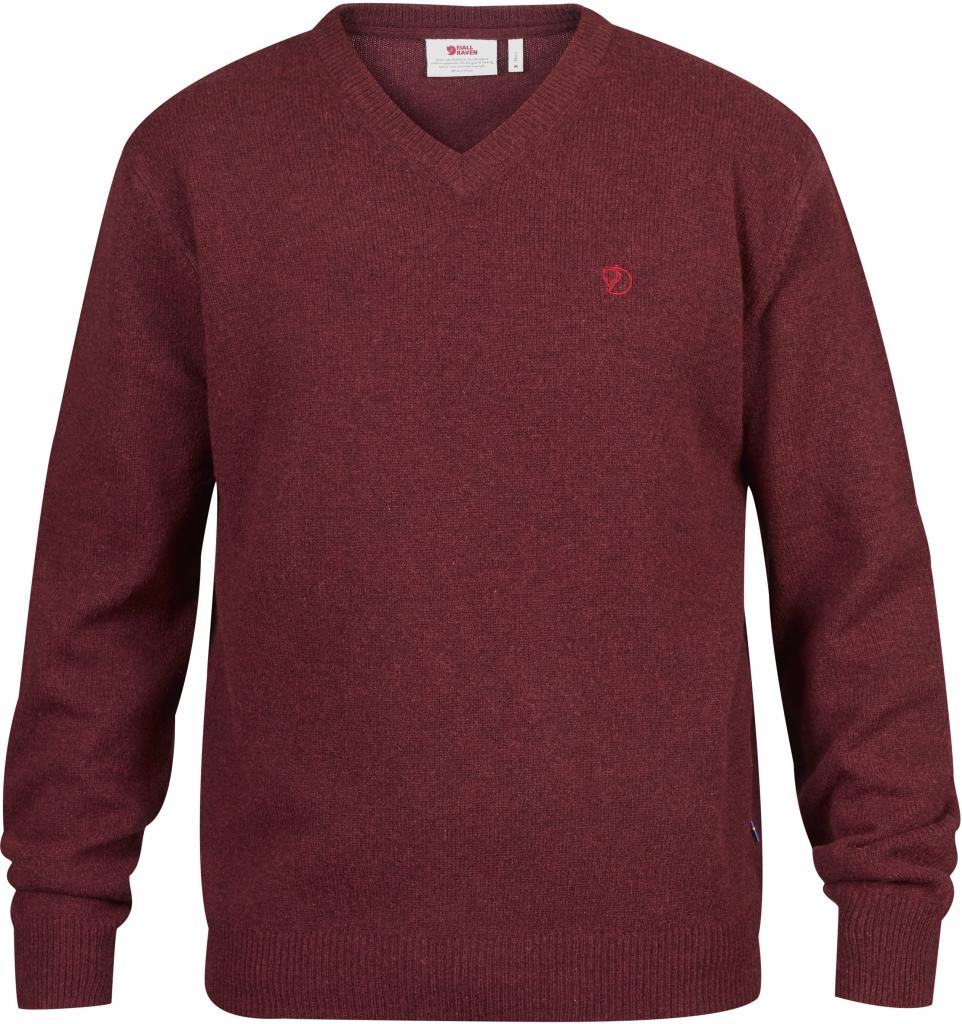 fjellreven shepparton sweater - red oak