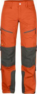 fjellreven bergtagen bukse dame - hokkaido orange