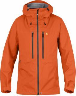 fjellreven bergtagen eco-shell jakke - hokkaido orange