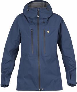fjellreven bergtagen eco-shell jakke dame - mountain blue