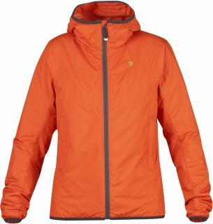 fjellreven bergtagen lite insulation jakke dame - hokkaido orange